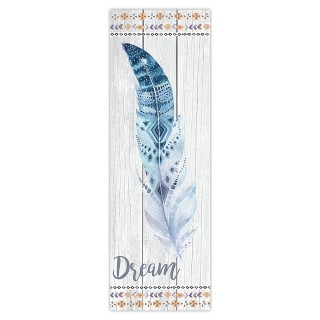 Toile plume Boho - 30 x 90 cm - Dream