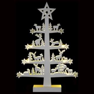 Décoration lumineuse de Noël - 32 x 47 cm - Arbre