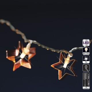 Guirlande lumineuse Noël - L. 135 cm - Etoile
