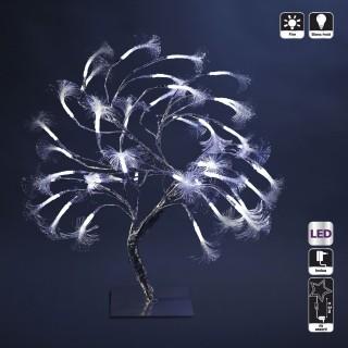 Arbre lumineux de Noël - H. 45 cm - Agent Fixe