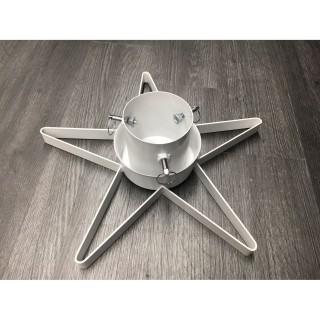 Pied de sapin métal Etoile - Réglable - Gris