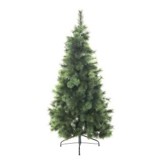 Sapin de Noël artificiel Aiguille pur - H. 150 cm - Vert