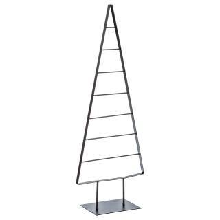 Sapin de Noël Géométrique - 30 x 80 cm - Noir