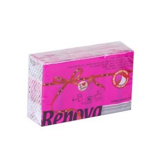 6 Paquets de mouchoirs parfumés - Triple épaisseur - Rose