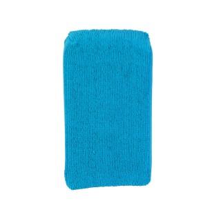 Eponge multi-usages microfibre - 19 x 11 cm - Bleu