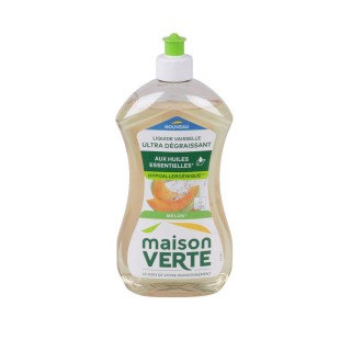 Liquide vaisselle Super Dégraissant - 500 ml - Parfum melon