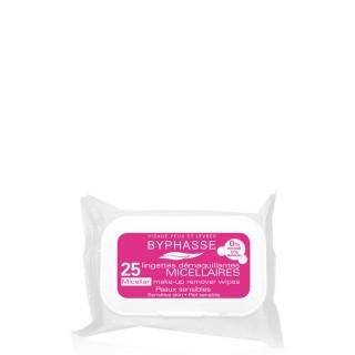 25 Lingettes démaquillantes Solution Micellaire - Peaux sensibles