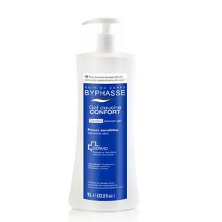 Gel douche Hydra-Doux Dermo - Peaux normales à sèches - 1 L