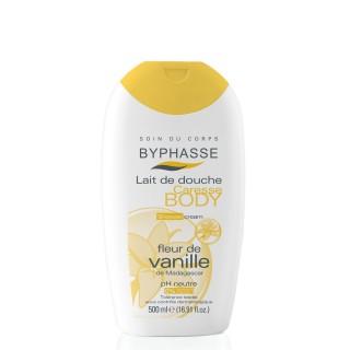 Lait de douche Caresse Fleur de vanille - Tous types de peaux - 500 ml