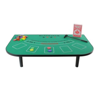 Jeu de table Blackjack - 51 x 30 cm