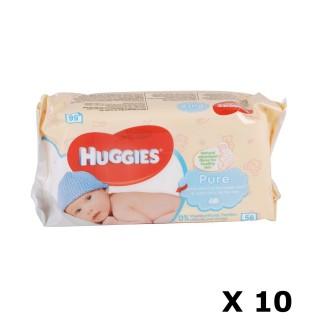 Lot de 560 Lingettes pour bébé - Pure