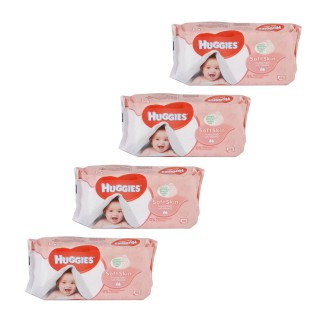 Lot de 224 Lingettes pour bébé - Soft Skin