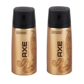 Lot de 2 Déodorants Spray - Gold Temptation - 150 ml