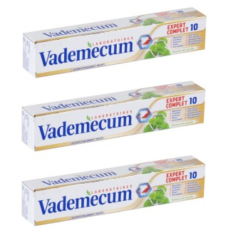 Lot de 3 Dentrifices Expert Complet - 75 ml