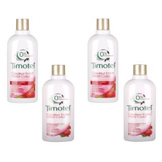 Lot de 2 Shampooing et 2 Après Shampooing Couleur Eclat - 400 ml