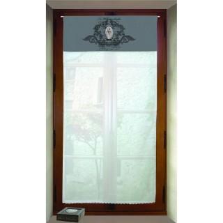 Brise bise Medaillon - 60 x 120 cm - Gris