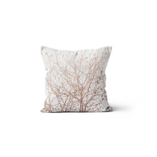 Coussin Forest - 40 x 40 cm - Blanc