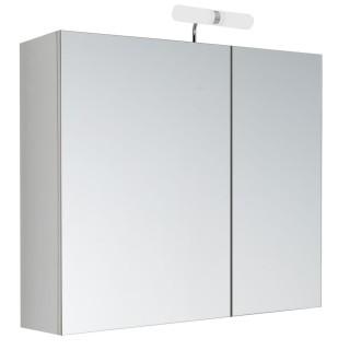 Armoire de toilette avec LED Kléo - 2 Portes - 60 x 60 cm