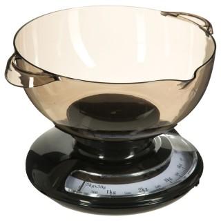 Balance de cuisine mécanique Saladier - 2 L - Noir