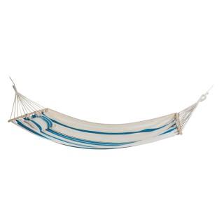 Hamac Guatemala - 200 x 100 cm - Blanc et bleu