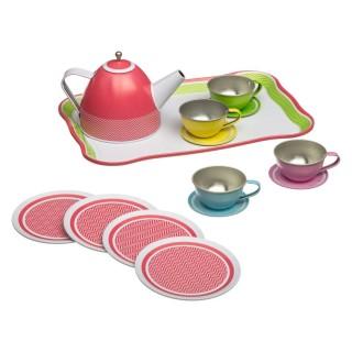 Service à thé enfant - 15 pièces - Rouge