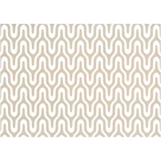 Adhésif décoratif Graphic - 200 x 45 cm - Grège