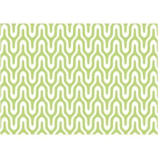 Adhésif décoratif Graphic - 200 x 45 cm - Vert