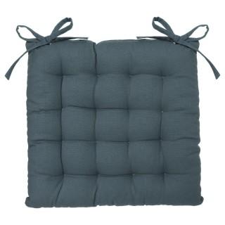 Galette de chaise carré - 38 x 38 cm - Orage
