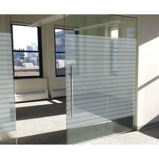 Film décoratif vitrostatique Office - 150 x 92 cm - Transparent