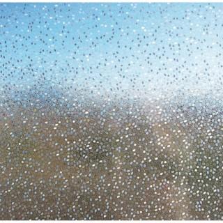 Film décoratif vitrostatique Rice - 150 x 46 cm - Transparent