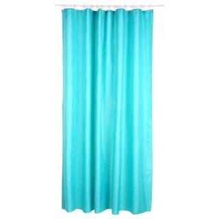 Rideau de douche - Polyester - 180 x 200 cm - Turquoise
