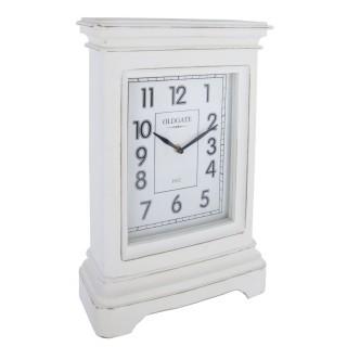 Pendule à poser Classic - H. 42 cm - Blanc