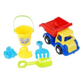Set de plage camion et accessoires - 6 pièces