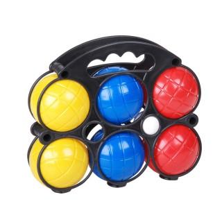 Boules de pétanque enfant - 6 Boules avec cochonnet - Plastique