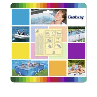 10 Patchs de réparation de piscine sous l'eau - Waterproof