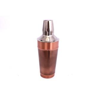 Shaker à cocktail en Inox martelé - 0,95 L - Couleur cuivrée