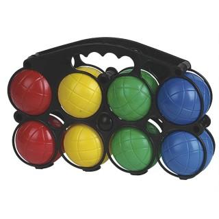 Boules de pétanque enfant - 8 Boules avec cochonnet - Plastique