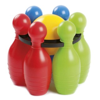 Jeu de Bowling enfant - 6 Quilles et 1 Boule - Plastique