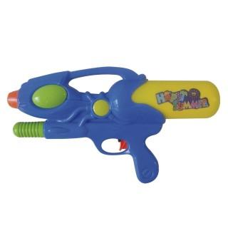 Pistolet à eau avec pompe - Bleu
