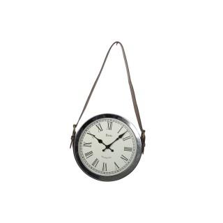 Pendule avec anse Vintage - Diam. 30 cm - Noir