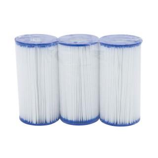 Lot de 3 Cartouches de filtration pour piscine - Type III / A&C