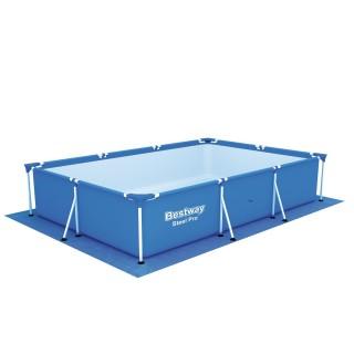 Tapis de sol pour piscine de 338 x 239 cm - Bleu