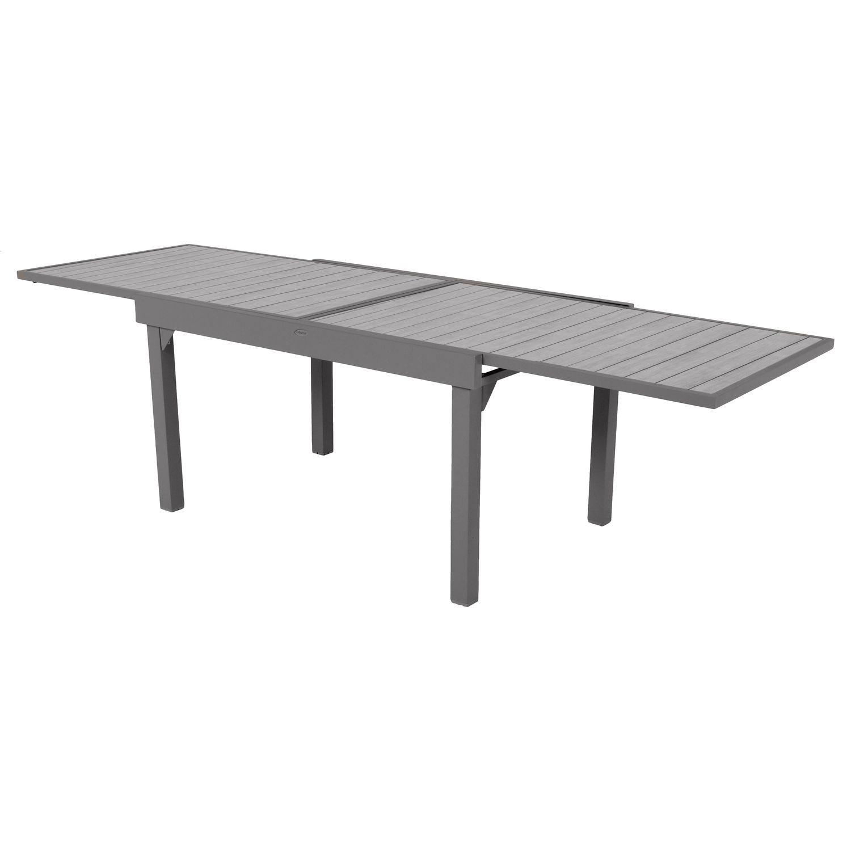 Table de jardin extensible 10 Personnes Piazza Lattes - L. 135/270 ...