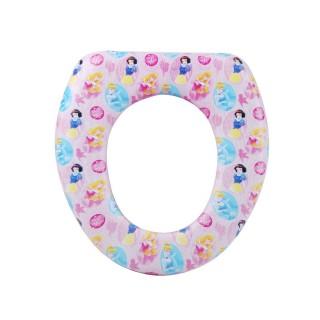 Réducteur de toilettes Princesse - Assise rembourrée - Rose