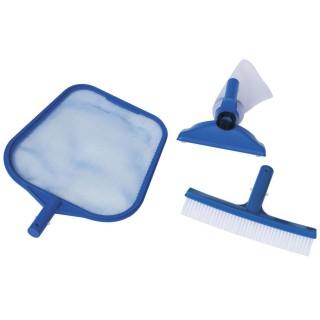 Kit de nettoyage pour piscine - 3 Pièces