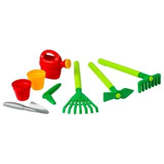 8 Outils de jardinage pour enfant - Plastique - Multicolore