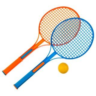 2 Raquettes de tennis pour enfant - Avec balle