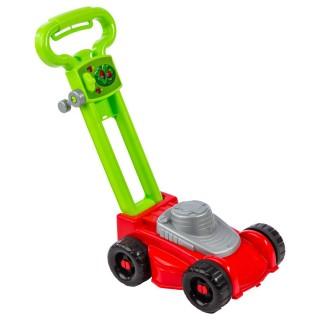 Tondeuse à gazon jouet enfant - H. 44 cm - Rouge
