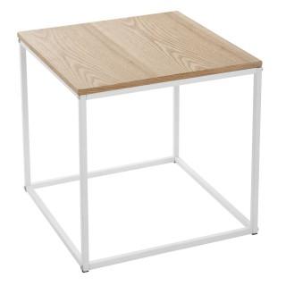 Table à café Palvo - H. 40 cm - Blanc