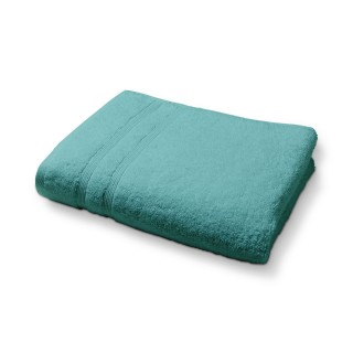 Serviette de toilette en coton - 50 x 90 cm - Bleu menthe